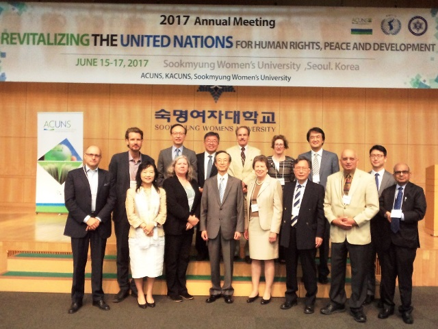 ACUNS 2017 held for the first time in Asia (15-17/06/2017) – Global